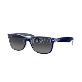78a9d3e7415b Sunglasses Ray Ban New Wayfarer Color Mix RB 2132 (605371) - Free Shipping  - Ottica SM