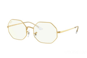 Occhiali da Sole Ray-Ban Octagon Everglasses Clear RB 1972 (9196BF)