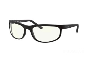 Occhiali da Sole Ray-Ban Predator Everglasses Clear RB 2027 (601SBF)