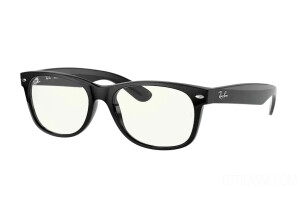 Occhiali da Sole Ray-Ban New Wayfarer Everglasses Clear RB 2132 (901/BF)