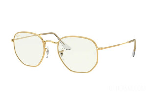 Sunglasses Ray-Ban Hexagonal Everglasses Clear RB 3548 (9196BF)
