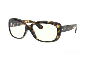 Occhiali da Sole Ray-Ban Jackie ohh Everglasses Clear RB 4101 (710/BF)