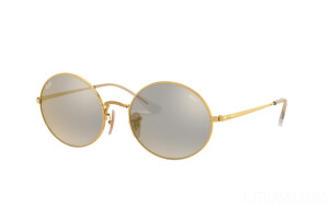 Occhiali da Sole Ray-Ban Oval Mirror Evolve RB 1970 (001/B3)