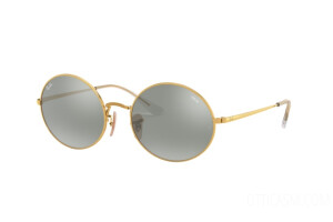 Occhiali da Sole Ray-Ban Oval Mirror Evolve RB 1970 (001/W3)
