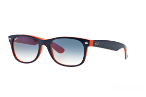 Sunglasses Ray Ban New Wayfarer Color Mix RB 2132 (789/3F)