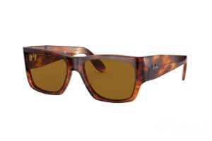 Occhiali da Sole Ray-Ban Nomad Legend Gold RB 2187 (954/33)