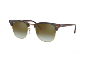 Occhiale da Sole Ray Ban Clubmaster Flash Lenses Gradient RB 3016 (990/9J)