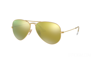 Occhiale da Sole Ray Ban Aviator Flash Lenses RB 3025 (112/93) 58mm