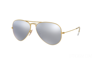 Occhiale da Sole Ray Ban Aviator Flash Lenses RB 3025 (112/W3) 58mm