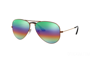 Occhiale da Sole Ray Ban Aviator Mineral Flash Lenses RB 3025 (9018C3)