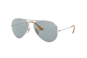 Occhiale da Sole Ray Ban Aviator Washed Evolve RB 3025 (9065I5)