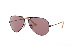 Occhiali da Sole Ray Ban Aviator large metal Evolve RB 3025 (9066Z0)
