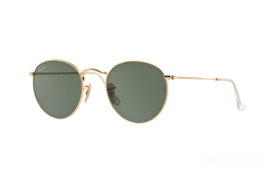 Occhiale da Sole Ray Ban RB 3447 Round Metal (001)