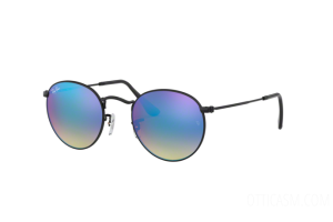 Occhiale da Sole Ray Ban RB 3447 Round Metal Flash Lenses Gradient (002/4O)