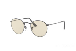 Occhiali da Sole Ray Ban Round metal Solid Evolve RB 3447 (004/T2)