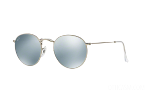 Sunglasses Ray Ban RB 3447 Round Metal Flash Lenses (019/30)