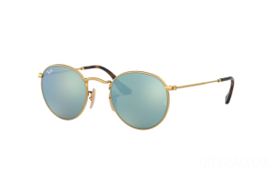 Sunglasses Ray Ban Round Flat Lenses RB 3447N (001/30)