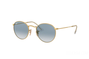 Sunglasses Ray Ban Round metal Flat Lenses RB 3447N (001/3F)