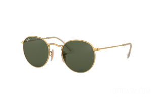 Occhiali da Sole Ray Ban Round metal Flat Lenses RB 3447N (001)