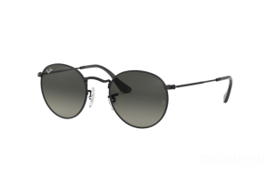 Occhiali da Sole Ray Ban Round metal Flat Lenses RB 3447N (002/71)