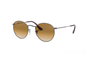 Occhiali da Sole Ray Ban Round metal Flat Lenses RB 3447N (004/51)