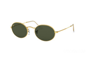 Occhiali da Sole Ray-Ban Oval Legend Gold RB 3547 (919631)
