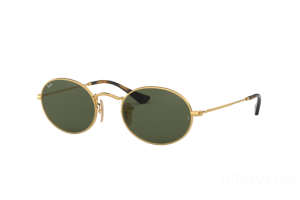 Sunglasses Ray Ban Oval Flat Lenses RB 3547N (001)