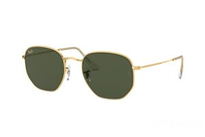 Occhiali da Sole Ray-Ban Hexagonal Legend Gold RB 3548 (919631)