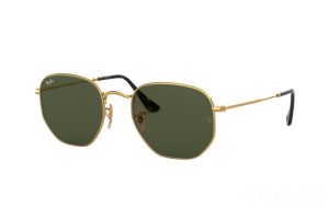 Occhiale da Sole Ray Ban Hexagonal Flat Lenses RB 3548N (001)