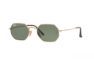 Sunglasses Ray Ban Octagonal Flat Lenses RB 3556N (001)