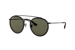 Sunglasses Ray Ban Round Double Bridge RB 3647N (002/58)