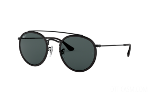 Occhiale da Sole Ray Ban Round Double Bridge RB 3647N (002/R5)