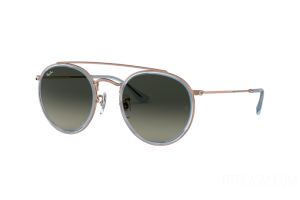 Occhiale da Sole Ray Ban Round Double Bridge RB 3647N (906771)