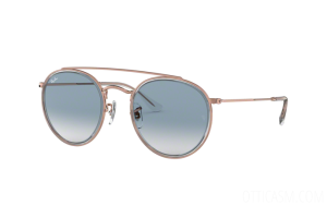 Occhiale da Sole Ray Ban Round Double Bridge RB 3647N (90683F)