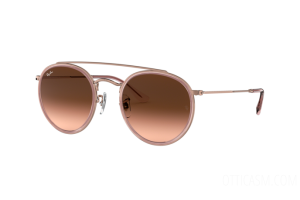 Occhiale da Sole Ray Ban Round Double Bridge RB 3647N (9069A5)