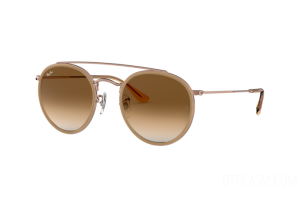 Occhiale da Sole Ray Ban Round Double Bridge RB 3647N (907051)
