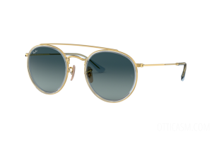 Occhiali da Sole Ray Ban RB Round Double Bridge 3647N (91233M)