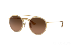 Occhiali da Sole Ray Ban Round Double Bridge RB 3647N (912443)