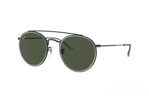 Occhiali da Sole Ray-Ban Round Double Bridge RB 3647N Legend Gold (921231)