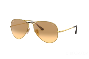 Occhiali da Sole Ray Ban Aviator metal ii Washed Evolve RB 3689 (9150AC)