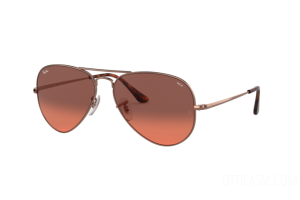 Occhiali da Sole Ray Ban Aviator metal ii Washed Evolve RB 3689 (9151AA)