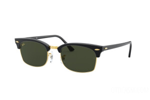 Occhiali da Sole Ray-Ban Clubmaster square Legend Gold RB 3916 (130331)