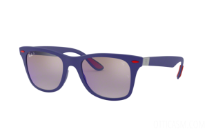 Occhiali da Sole Ray Ban Scuderia Ferrari Collection RB 4195M (F604H0)