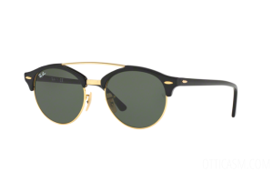 Occhiale da Sole Ray Ban Clubround Double Bridge RB 4346 (901)