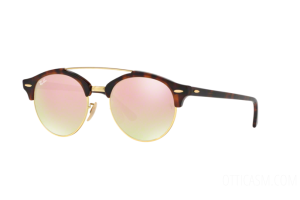 Occhiale da Sole Ray Ban Clubround Double Bridge RB 4346 (990/7O)