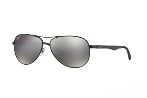 Occhiale da Sole Ray Ban Carbon Fibre RB 8313 (002/K7)