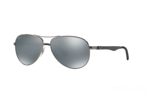 Occhiale da Sole Ray Ban Carbon Fibre RB 8313 (004/K6)