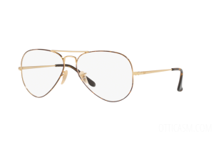 Occhiale da Vista Ray Ban Aviator Optics RX 6489 (2945) - RB 6489 2945