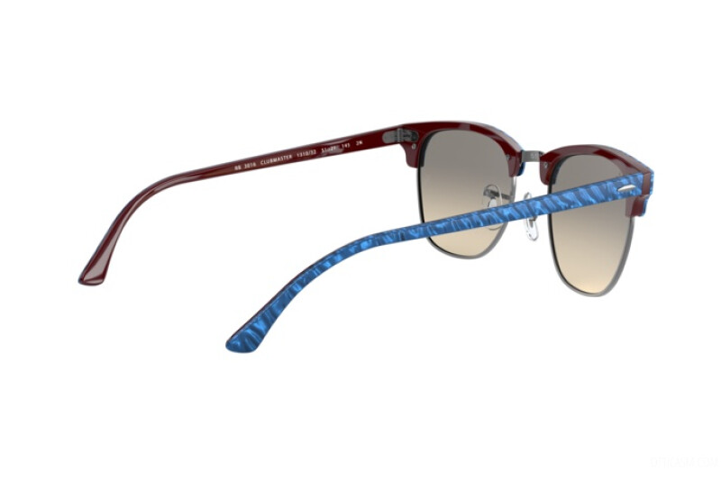 Sunglasses Unisex Ray-Ban Clubmaster Marble RB 3016 131032