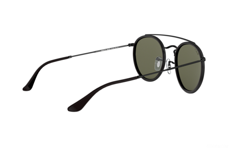 Sunglasses Unisex Ray-Ban Round Double Bridge RB 3647N 002/58